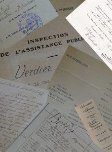 Document de l'assistance publique - Verdier