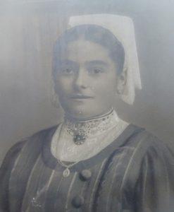 Eugénie COUTANCIN (Source familiale - Tous droits réservés)