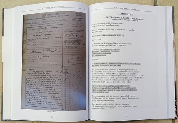 Exemple de réalisation de généalogie foncière